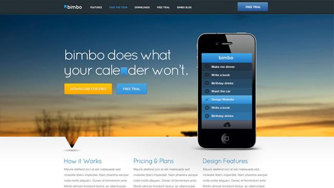 企業形象網站的設計概念-視覺化UI設計